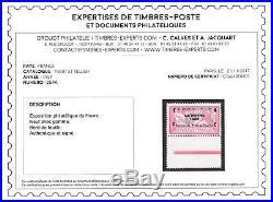 FRANCE 1929.'LE HAVRE' N°257A BDF NEUF X ET TB. Certificat Calves. +875 B208