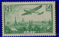 FRANCE 1936 PA 14 SIGNE CALVES LUXE MNH-OG cote 2250