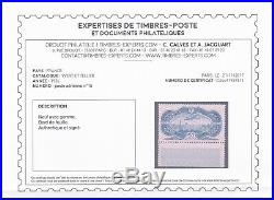 FRANCE 1936. PA N°15 BdF neuf X quasi XX Certificat Calves et superbe