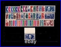 FRANCE ANNEE COMPLETE 1938 / n° 372/418 / MNH / TTBE