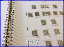 FRANCE EN 11 ALBUMS (feuilles sans timbres) LUXE YVERT+1849/2010. Gamme Supra+