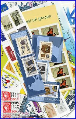 FRANCE, LOT FACIALE 300 EURO pour 210 EURO, timbres neufs, PORT OFFERT