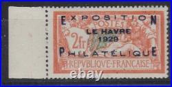 FRANCE N° 257 A BdF xx Signé Calves / Cote 1600 SUPERBE