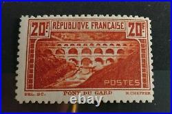 FRANCE N° 262B PONT DU GARD dentelure 11 NEUF TTB