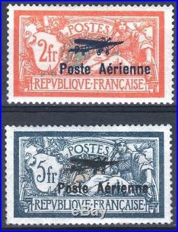 FRANCE STAMP AVION 1 / 2 MERSON SALON MARSEILLE 1927 NEUFS xx TTB M428
