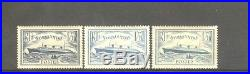 FRANCE STAMP TIMBRE 299/300b PAQUEBOT NORMANDIE 3 COULEURS NEUFS xx SUP H527