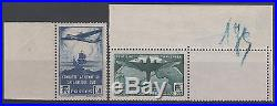 FRANCE STAMP TIMBRE 320/321 TRAVERSEE ATLANTIQUE SUD NEUFS xx TB A VOIR N821