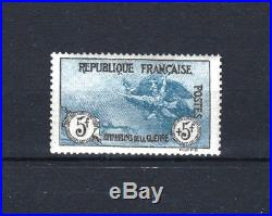 FRANCE STAMP TIMBRE N° 155 ORPHELINS LA MARSEILLAISE 5F+5F NEUF xx LUXE R594