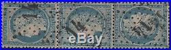 FRANCE STAMP TIMBRE N° 60 Ab CERES 25c BLEU TETE BECHE OBLITERE A VOIR