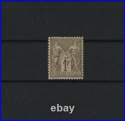 FRANCE STAMP TIMBRE YVERT N° 72 SAGE 1F BRONZE 1876 NEUF xx LUXE T943