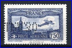 FRANCE TIMBRE STAMP AVION 6 c 1F50 OUTREMER EIPA 30 NEUF xx LUXE SIGNE R894