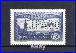 FRANCE TIMBRE STAMP AVION 6 c 1F50 OUTREMER EIPA 30 NEUF xx LUXE SIGNE T615