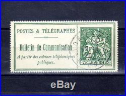 FRANCE Téléphone n° 30 oblitéré