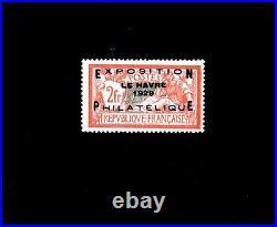 FRANCE n° 257A / EXPOSITION LE HAVRE / MNH / SIGNE SCHELLER / TTBE