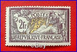 France 1900 Type Merson Y&T # 122 Neuf Sans Charnière Signé