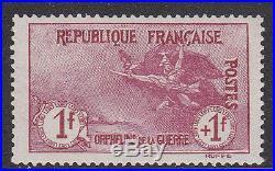 France 1918. Orphelin N°154 XX Tb Centrage. Regomme. Certificat Calves B169
