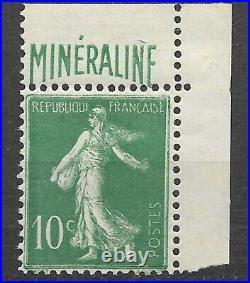 France 1924 MINÉRALINE N° 188A Neuf / MNH BC et BDF