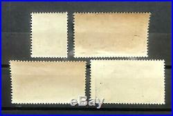France 1926 Orphelins N°s 229 à 232 Neufs Sans Charnière