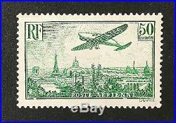 France 1928 Survol de Paris PA Y&T N° 14 Neuf Sans Charnière Signé