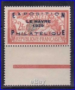 France 1929.'le Havre' N°257a Bdf Neuf XX Et Tb. +1600 C56