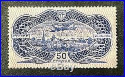 France 1936 Avion Survolant Paris PA N° 15 Neuf Sans Charnière TTBE