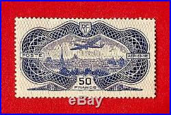 France 1936 Poste Aérienne Y&T N° 15 Neuf Sans Charnière TTBE