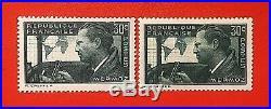France 1937 Jean Mermoz Y&T # 337 & 337A Signé Neufs Sans Charnière