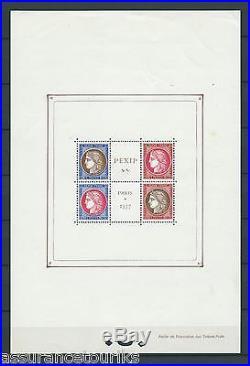 France 1937 Yt 3 Pexip Feuillet Neuf Mnh