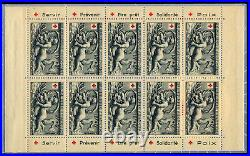 France 1952 Carnet Croix-Rouge N°2001 NEUF LUXE