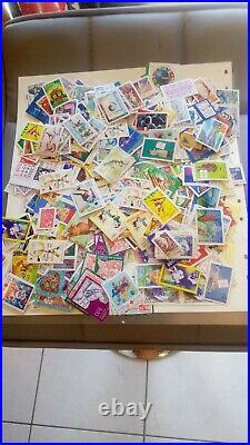 France 1960 a nos jours en sous façiale neufs valeur postale 200