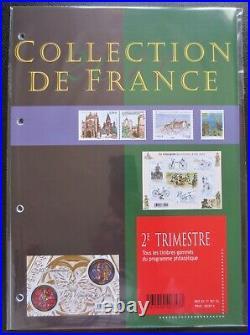 France Année 2011 Programme Philatélique Complet Timbres Neufs