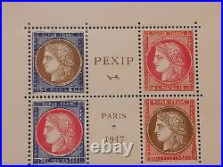 France Bloc Feuillet 3 Pexip 1937 Neuf