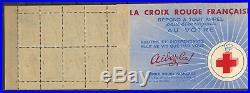 France Carnet Croix Rouge de 1952 N LUXE TTBE cote 550 euros
