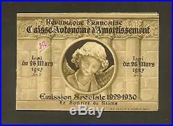 France Carnet Sourire De Reims 1930 Neuf Ttb, Rare