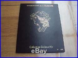 France Coffret Marianne & l'Europe étoile d'or Neuf LUXE 2012