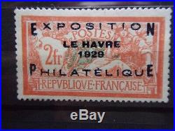 France Exposition Du Havre N° 257a Neuf Gomme Sans Charniere Ni Trace T. B. C