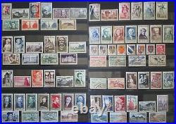 France Jolie Collection De Timbres Neufs Entre 1900 Et 1960 Cote 4500,00