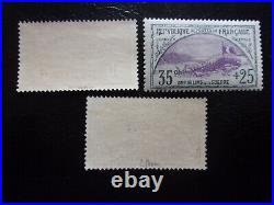 France N°152 A 154 Orphelin Neuf Gomme Sans Charniere Ni Trace 153 Et 154 Signes