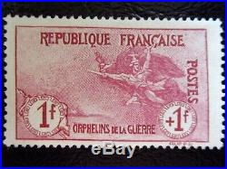France N°154 Orphelin Neuf Gomme Sans Charniere Ni Trace Signe