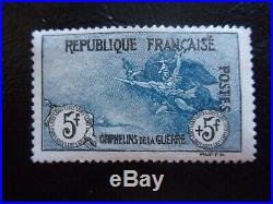 France N° 155 Orphelin Neufs Gomme Sans Charniere Ni Trace Signe Richter