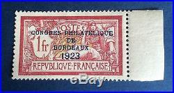 France N° 182 Congrès De Bordeaux Neuf TB Centrage Signe Calves Côté 925 +50