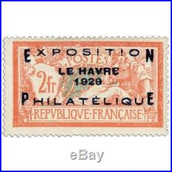 France N°257a, Exposition Du Havre, Timbre Neuf1929