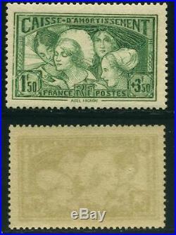 France N°269 Coiffes Des Provinces Caisse D'amortissement 1931 Neufs XX Ttb