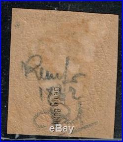 France N° 6 1862 Neuf Certificat