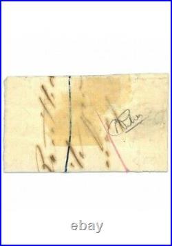 France N°6 Type Ceres 1fr Carmin, Bande De Timbres Oblitéré, Rare/défectueux-184