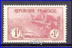 France Orphélins de la guerre. Yvert 154. Signé Cote 1700 euros