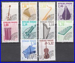 France PR 1992 TP préoblitérés Y&T 213a à 223a instruments de musique IV pur