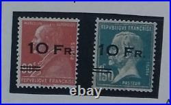 France, Poste aérienne 3 et 4, signés avec certificat Calves, TTB, cote 21000