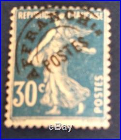 France Preos N° 60 30 C Bleu Neuf Signe Calves Et TB Cote 420