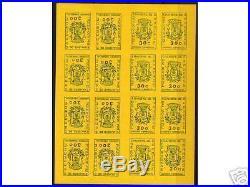 France Stamp Timbre De Greve Roanne 1968 En Feuille Entiere